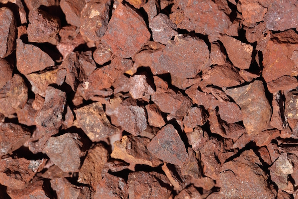 iron, one of the elements that makes water look rusty